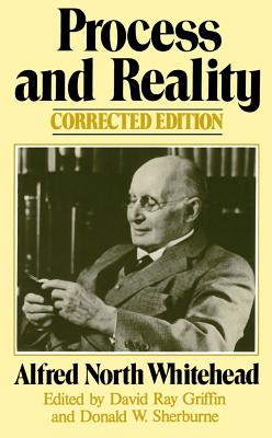 Process and Reality By Whitehead, Alfred North
